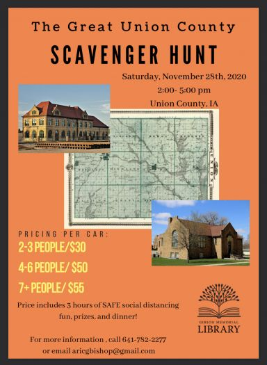 The Great Union County Scavenger Hunt!